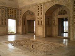 Marble Hall of Sheesh Mahal.