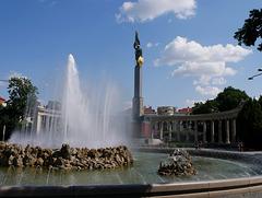 Wien, Hochstrahlbrunnen / Vienna, High-jet fountain