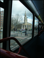 St John's from the bus