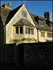 sunlight on a Cotswold gable