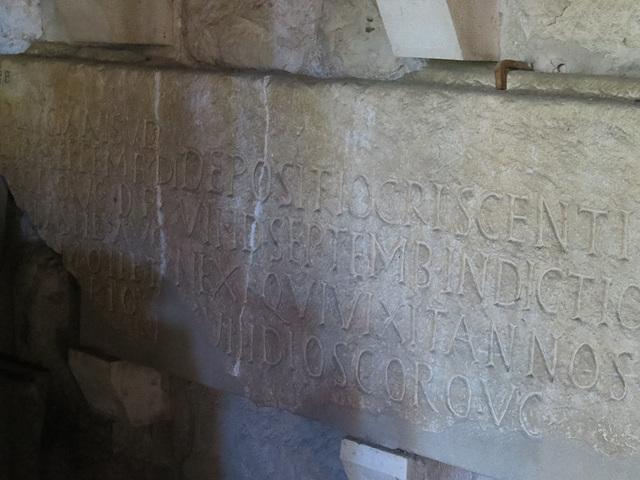 Musée archéologique de Split : CIL III, 9520 = IlJug III, 2455.