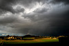après l'orage, l'arc-en-ciel - Drôme