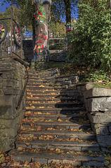 Stairs in Bergen