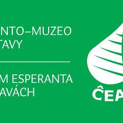 Surmura ĉefporda tabuleto de Esperanto-Muzeo en Svitavy