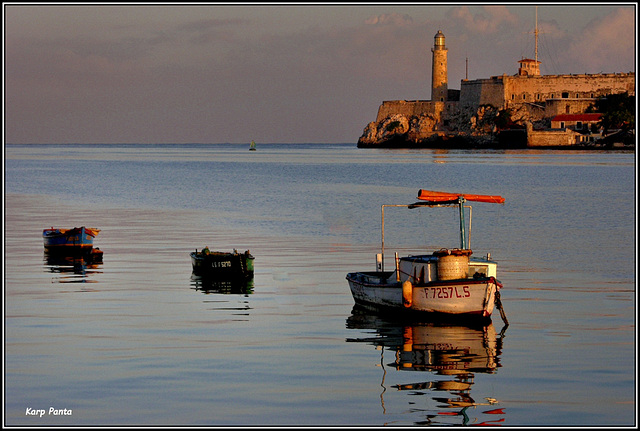 """Faro del Morro"" - La Habana - CUBA"
