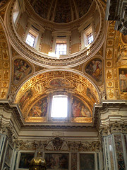 Sistine Chapel of Holy Mary Major Basilica.