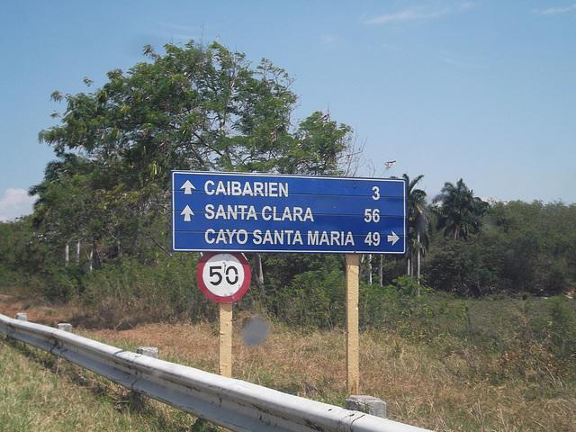 Distances cubaines