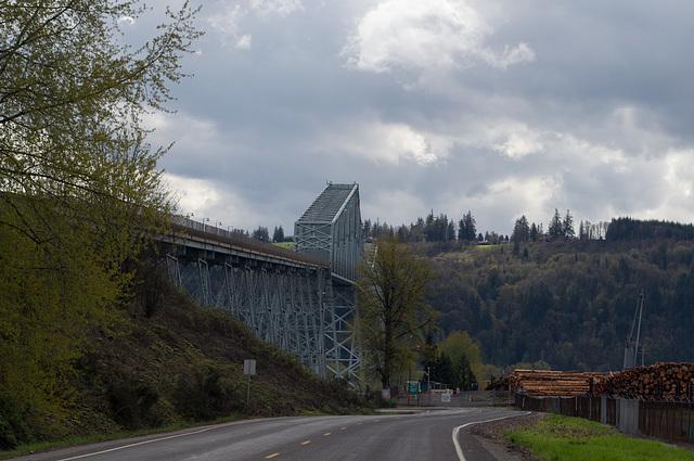 Longview WA Lewis and Clark bridge (#0520)