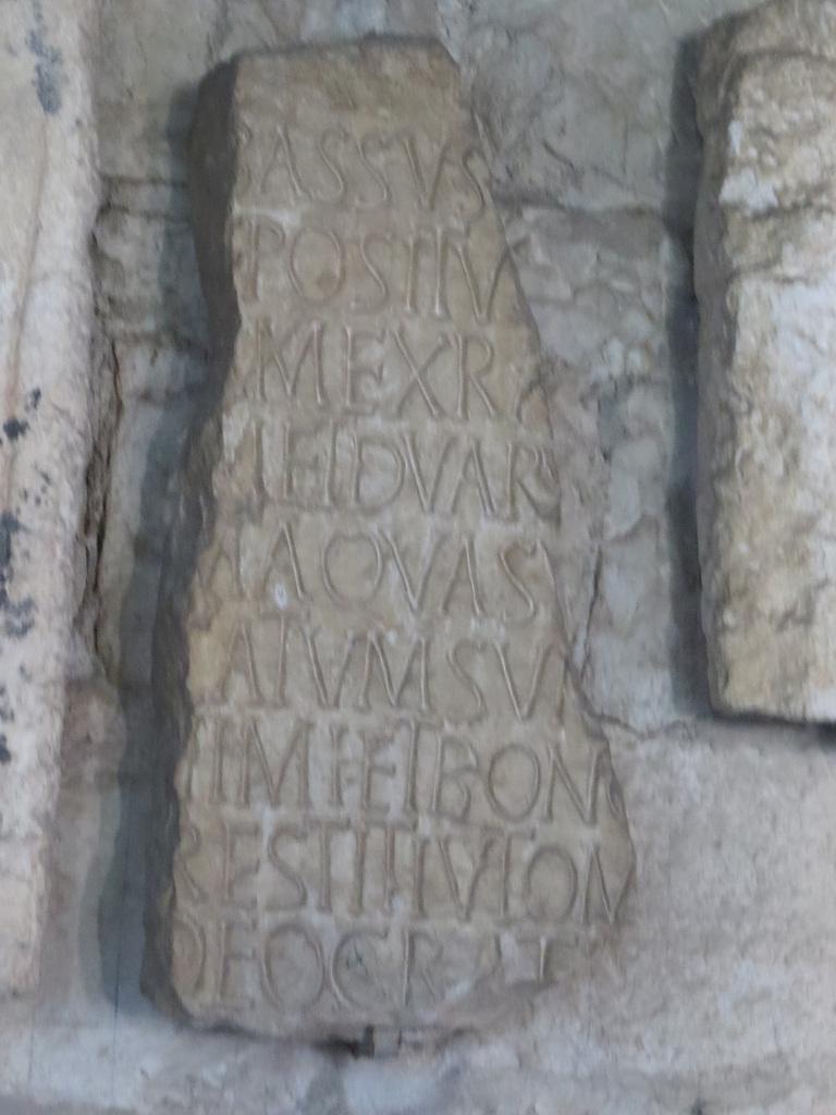 Musée archéologique de Split : CIL III, 9570 = IlJug. III, 2384.