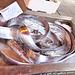 frischer Fisch - auf dem Markt in Siracusa
