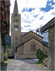 Nevache : La chiesa di Saint Marcellin - (776)