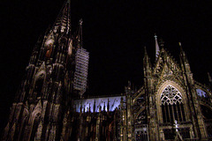DE - Cologne - Cathedral by night