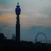 Two London landmarks