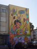 Mural of South_american indian, by Cena 7.