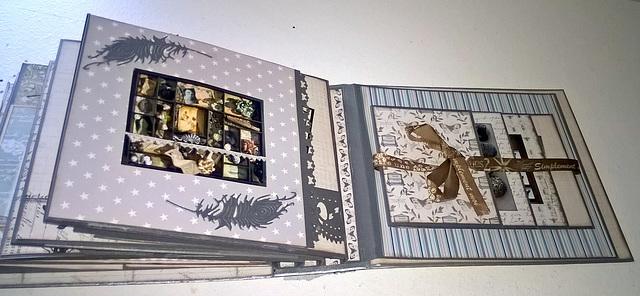 Scrapbooking - Album Curiosités