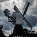 Mill and clouds
