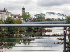 Kettenbrücke in Bamberg, Deutschland