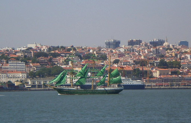 Tall Ships Race - Departure from Lisbon.