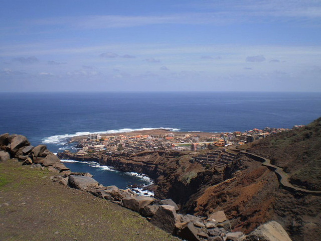 Overview to Ponta do Sol.