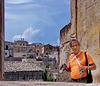 Matera : Case antiche e fotografo ben attrezzato