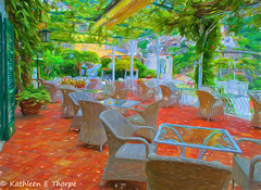 Positano Hotel Poseidon Terrace Topaz Filter Modern Liquid Lines