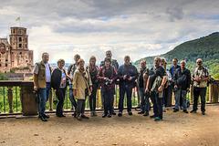 Iper / Pano Meeting in Heidelberg - Fotostopp auf der Scheffelterrasse (270°)