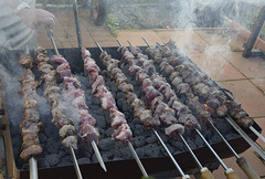 Portuguese Meat on a Spit
