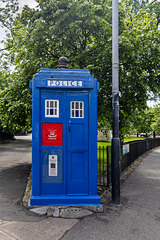 HFF from the Police Box, Cathedral Gardens, Glasgow