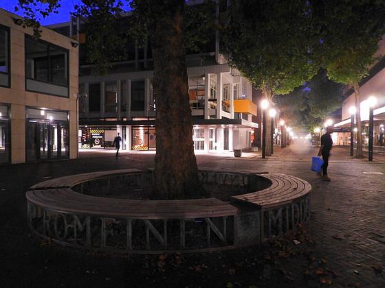Twillight cirkle bench   (Hbm)