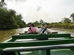 02 Boat ride through the Caroni Swamp
