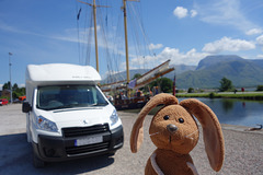 Van, hills, water, Rabbit - four of my favourite things