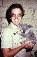 Ron with koala
