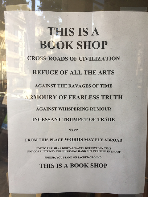this is a book shop