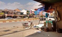 Laos street scenery