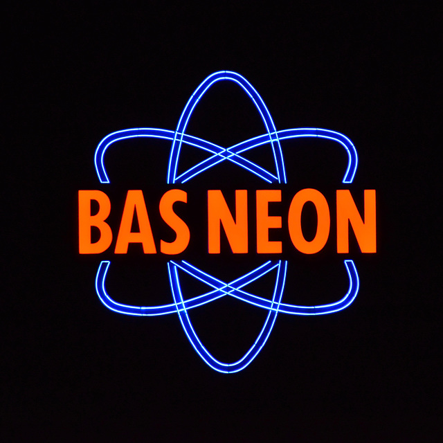 Neon sign of neon-sign company