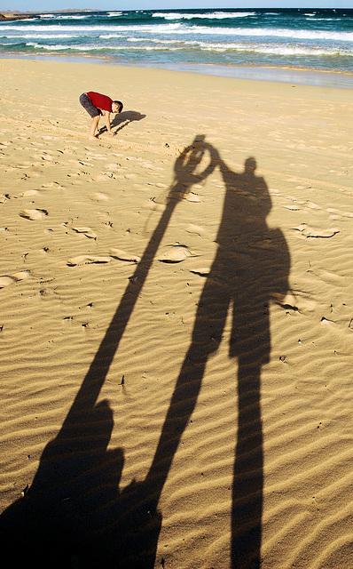 Schatten - Shadows: Rettungsring stets griffbereit