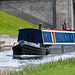 Barge on the Forth Clyde Canal at Clydebank