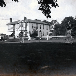 Tennis Party at Ballyforan Park Kildare, 1911
