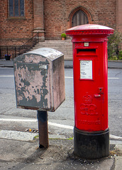 Edward VIII Pillar Box, Glasgow - G12 190D