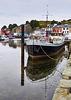 Barge Café, Tarbert Harbour