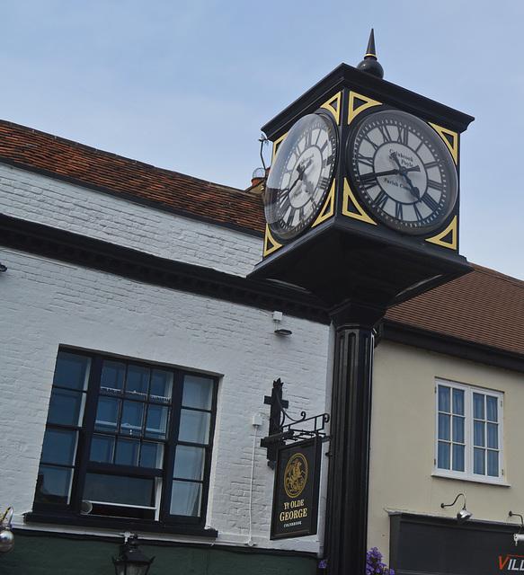 Village clock, Colnbrook