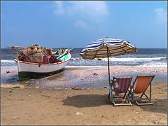 Port Said : la spiaggia ricca di conchiglie