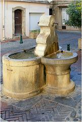La Fontaine double ...