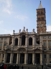 Basilica of Holy Mary Major and belfry.