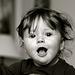 Enthusiastic baby-girl