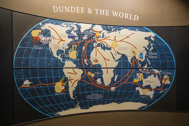 Dundee and the World, Verdant Works Jute Museum, Dundee