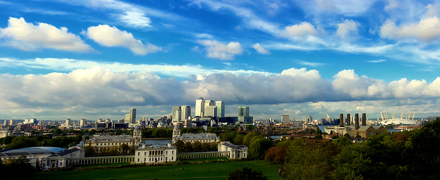 View on London