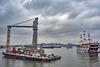 Cai Lan port in Hong Gai Province