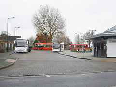 DSCF0324 Mildenhall bus station - 20 Nov 2017