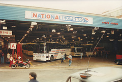 The old National Express Coach Station, Digbeth, Birmingham - 8 Sep 1995